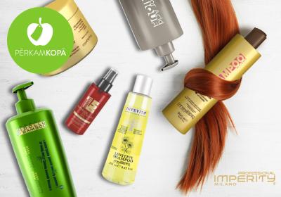 Profesionāli matu kopšanas līdzekļi