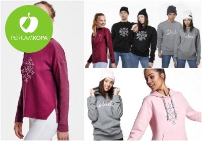 Latviski džemperi un legingi visai ģimenei