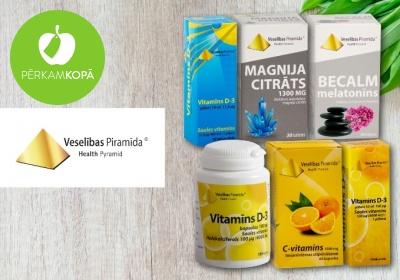 Vitamīni, minerālvielas un augu ekstrakti