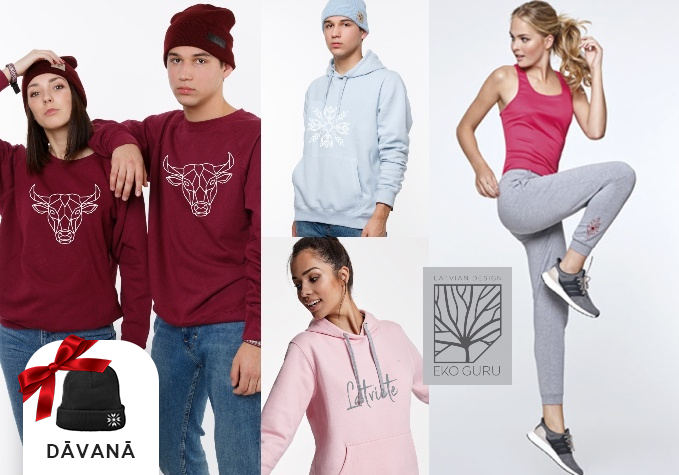 Latviski džemperi u.c. apģērbi ģimenei