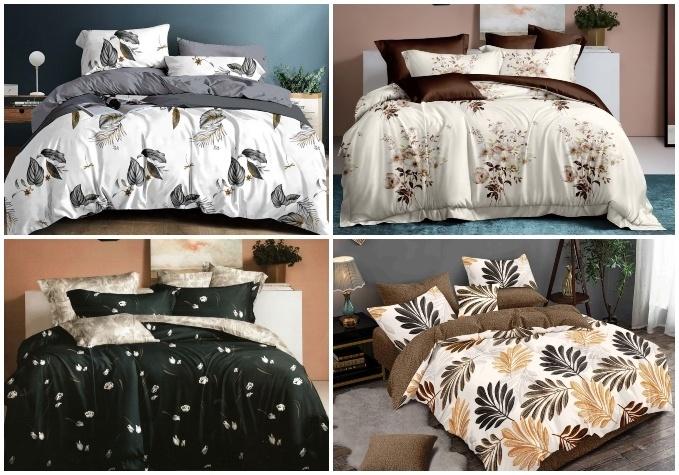 Двухстороннее постельное белье