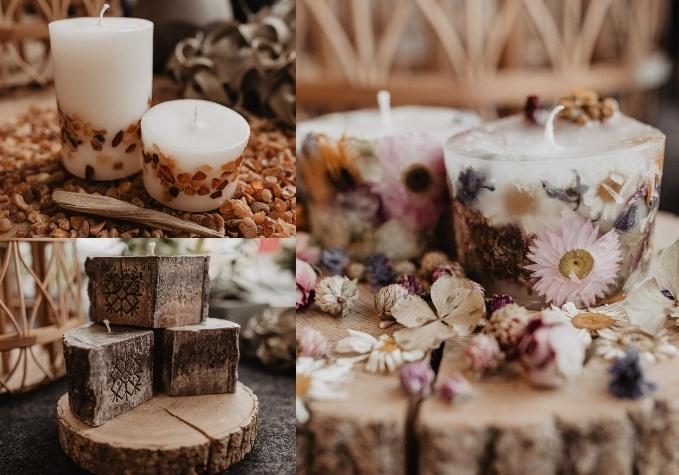 Dabīgas sveces un gaisa aromatizētāji