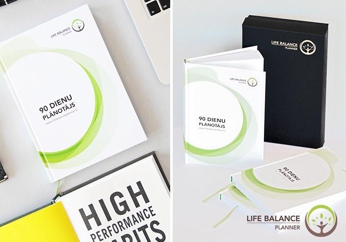 """Plānotājs """"Life Balance Planner"""" 90 dienām"""