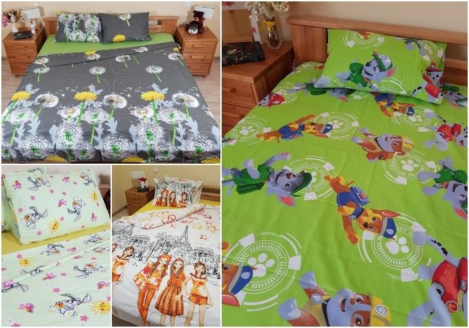 Latvijā ražota kokvilnas gultas veļa