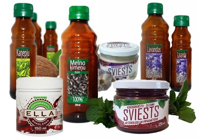 Latvijā ražotas eļļas un sviesti