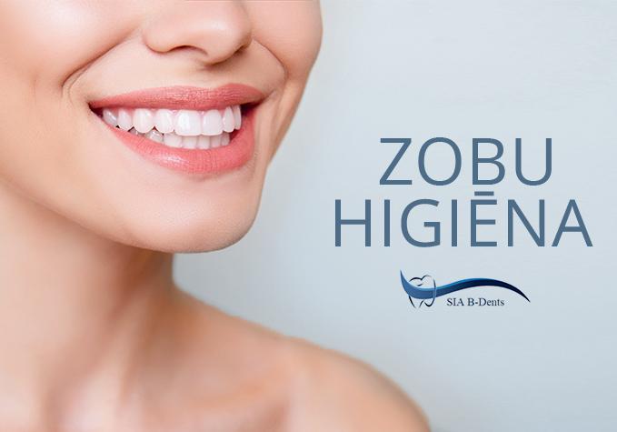 Zobu higiēnas procedūra