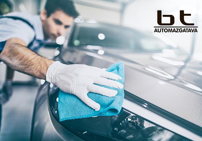 Auto mazgāšana un salona tīrīšana