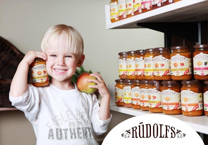 """""""Rūdolfs"""" BIO produkti bērniem"""