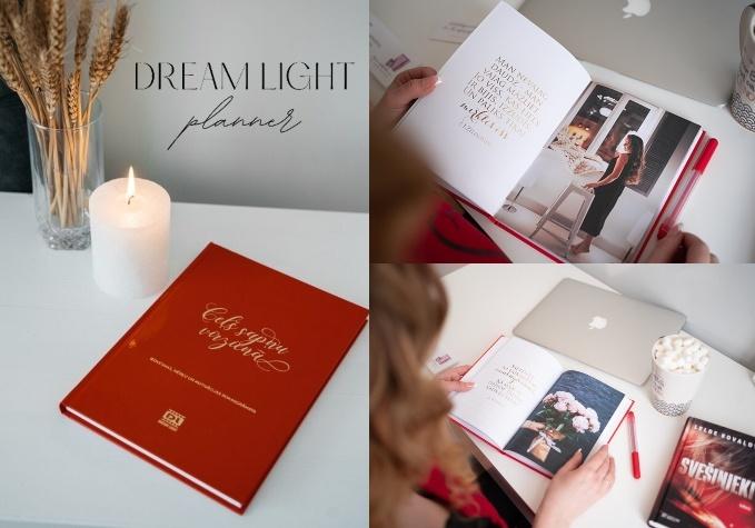 """Ежедневник для женщин""""Dream Light Planner'"""