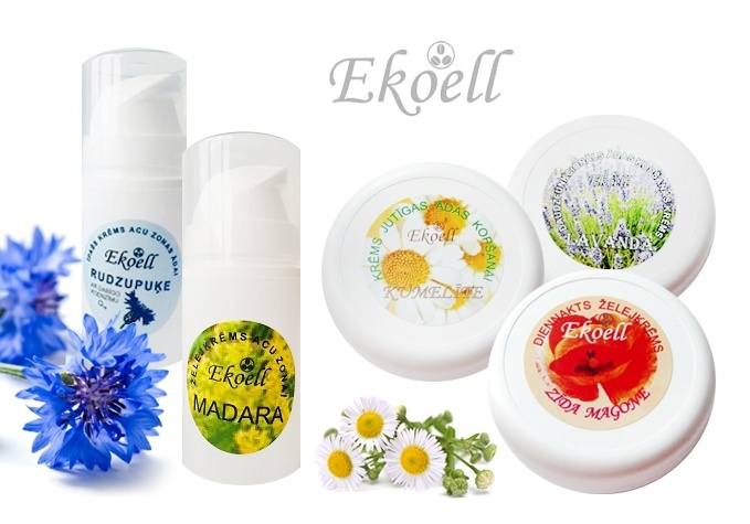 Созданная в Латвии косметика от EKOELL