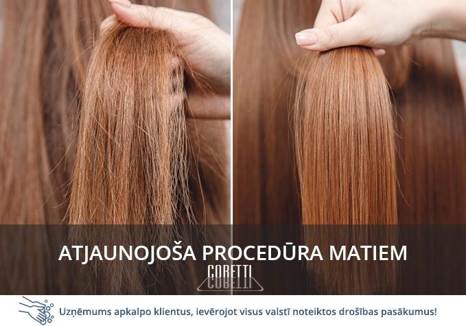 Atjaunojoša procedūra bojātiem matiem
