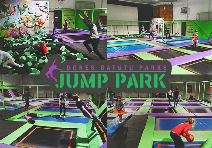 JUMP PARK batutu parka apmeklējums