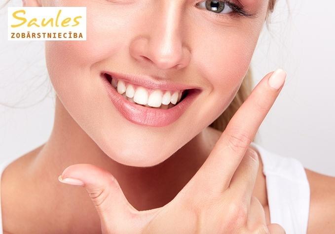 Pilna profesionālā zobu higiēnas procedūra