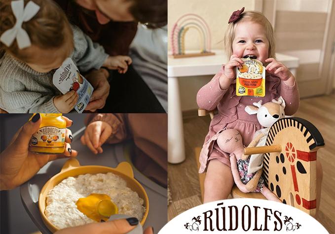"""Детские БИО-продукты """"Rūdolfs"""""""