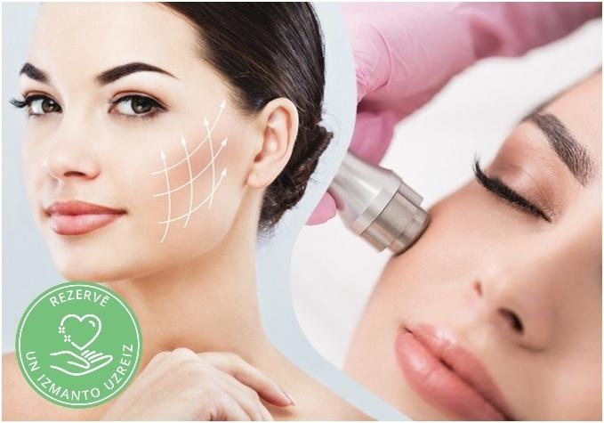 Procedūra ar botulīnterapiju sejas ādai