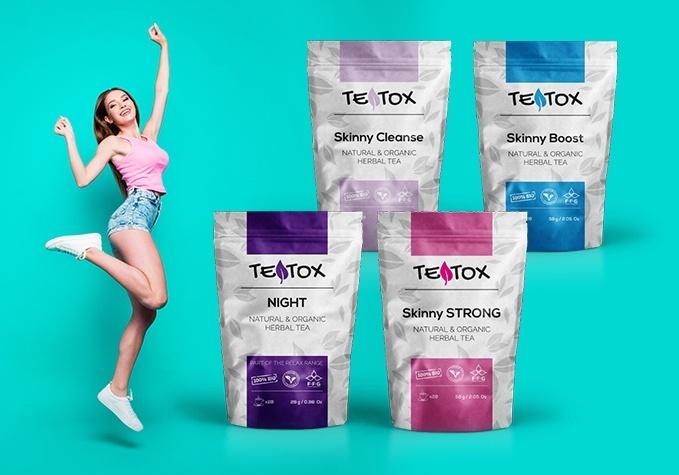 TEATOX tievēšanas tējas