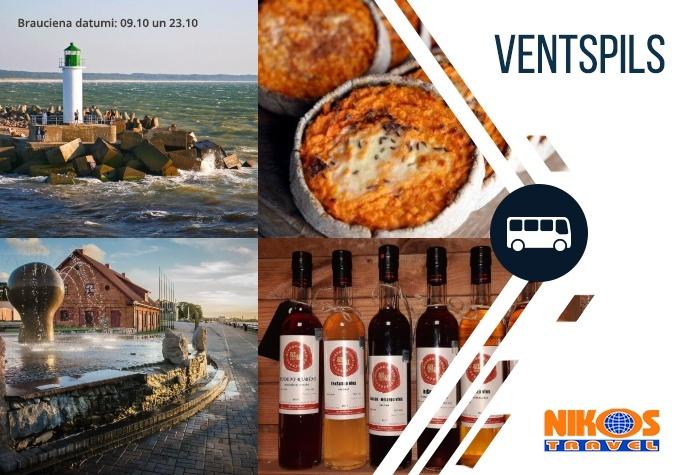 """Gastronomiskā tūre """"Ventspils garša"""" 23.10"""