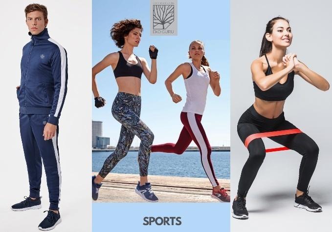 Sporta apģērbs, apavi un aksesuāri