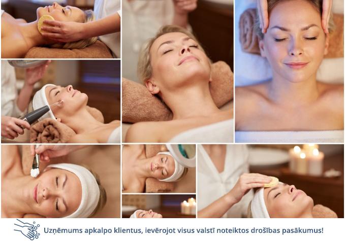 12 etapu procedūra sejas mirdzumam