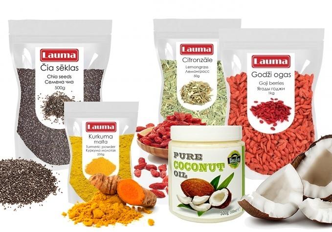 Superprodukti veselībai un gardām maltītēm