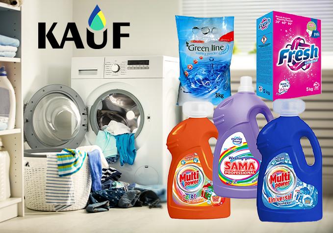 Veļas mazgāšanas līdzekļi