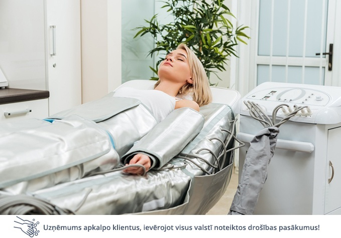 Limfodrenāžas procedūra ķermenim